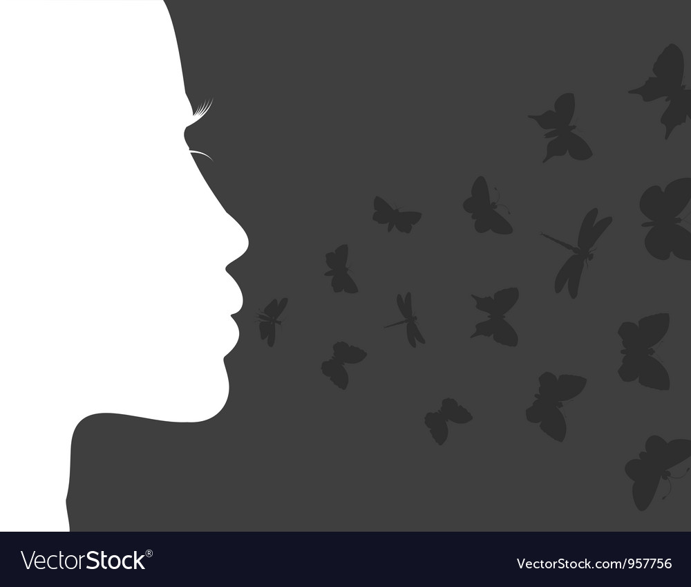 Breath of the butterfly vector | Price: 1 Credit (USD $1)