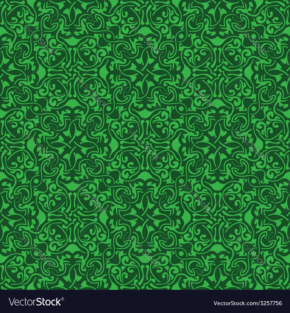 Green seamless pattern vector   Price: 1 Credit (USD $1)
