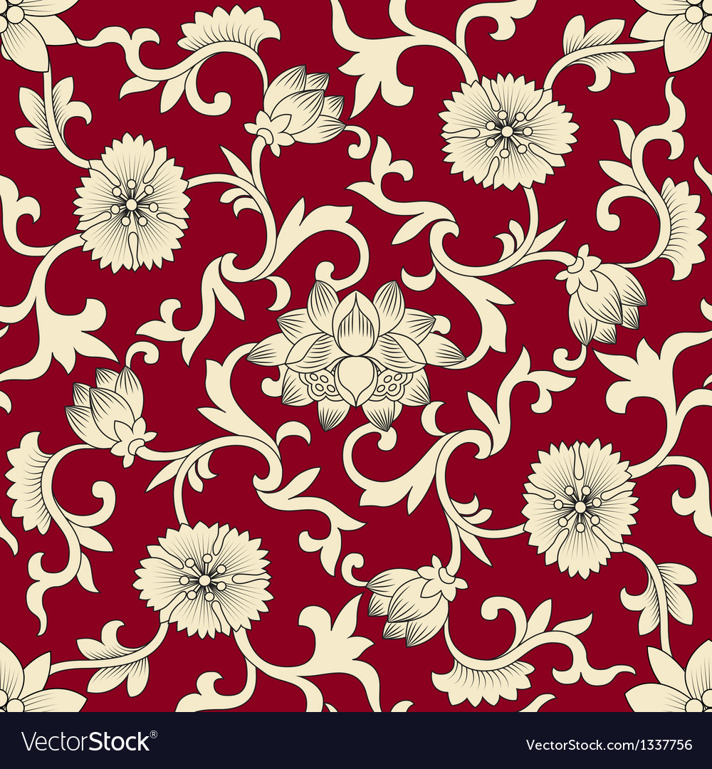 Seamless pattern chinese vector | Price: 1 Credit (USD $1)