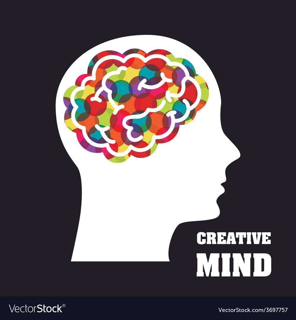 Creative mind vector   Price: 1 Credit (USD $1)