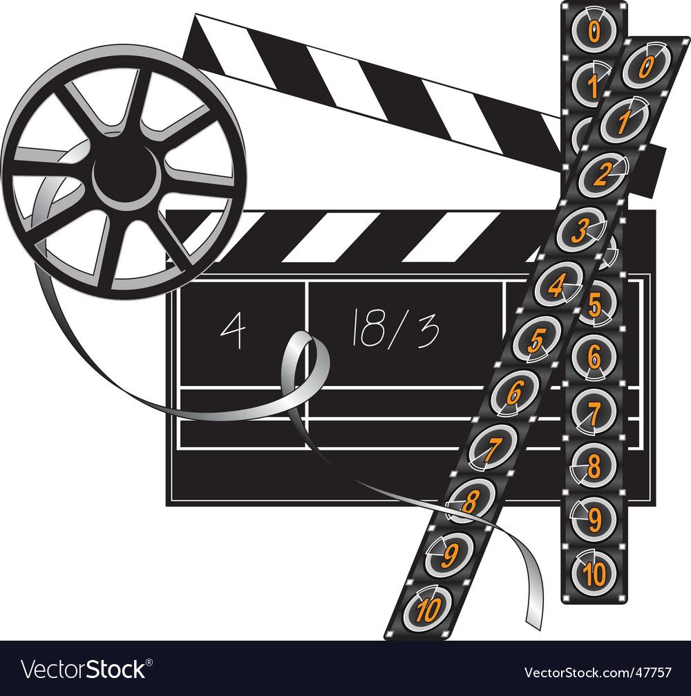 Filmmaker set vector | Price: 1 Credit (USD $1)