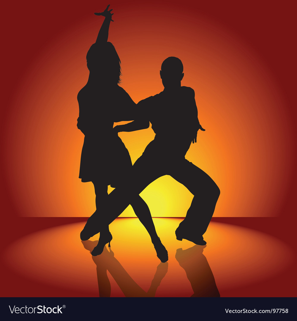 Latino dance vector | Price: 1 Credit (USD $1)