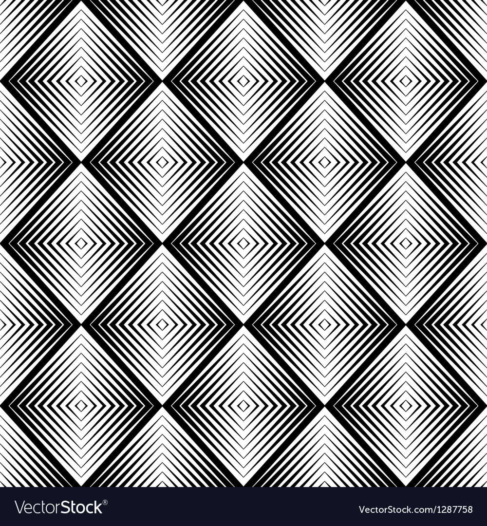 Optical blur seamless pattern vector | Price: 1 Credit (USD $1)