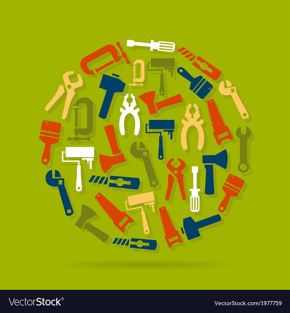 Tool circle vector | Price: 1 Credit (USD $1)