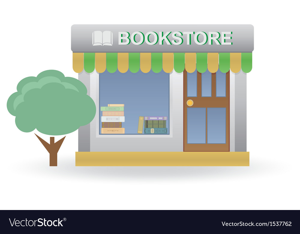 Bookstore vector | Price: 1 Credit (USD $1)