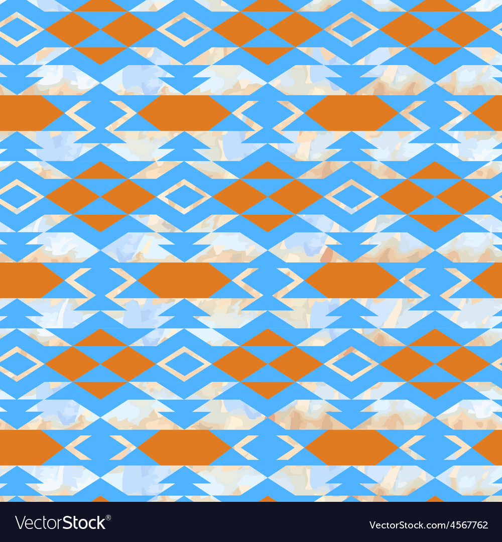 Navajo aztec textile inspiration pattern native vector | Price: 1 Credit (USD $1)