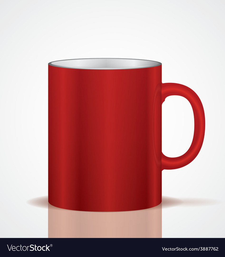 Red cup vector   Price: 1 Credit (USD $1)