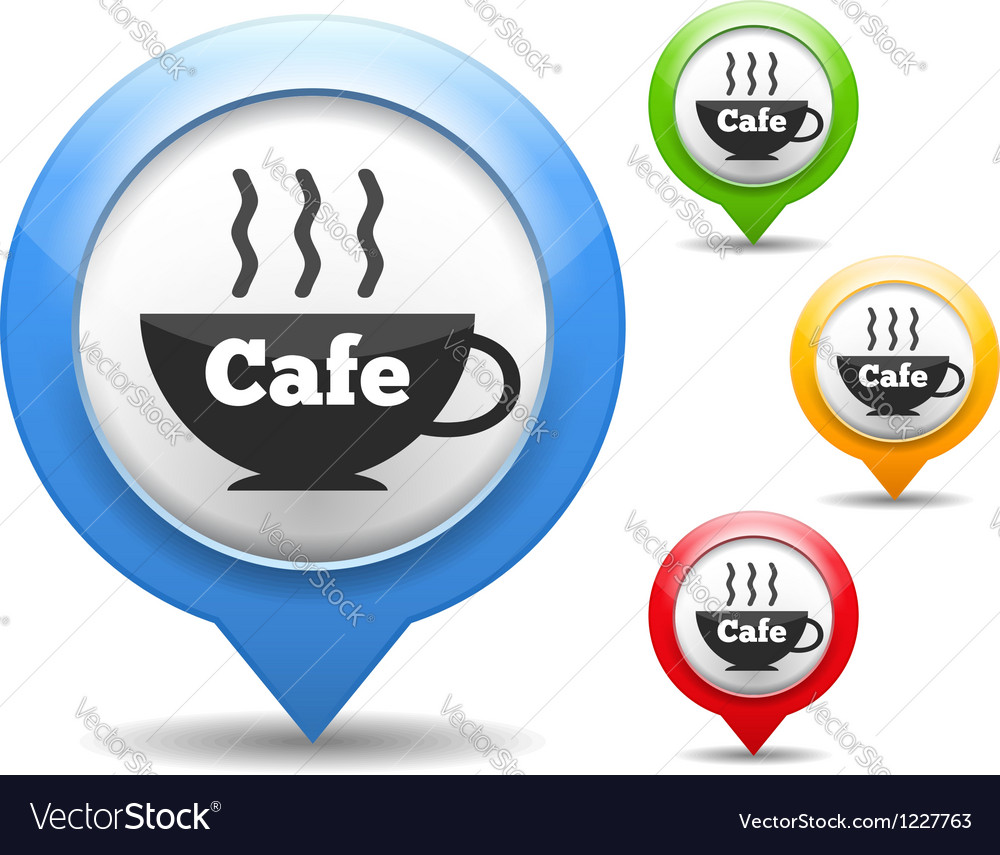 Cafe icon vector | Price: 3 Credit (USD $3)