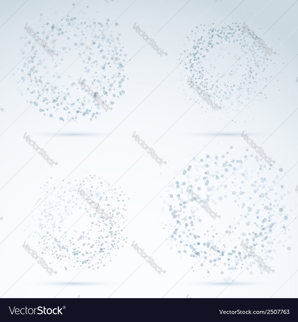 Drop design elements - transparent particles vector | Price: 1 Credit (USD $1)