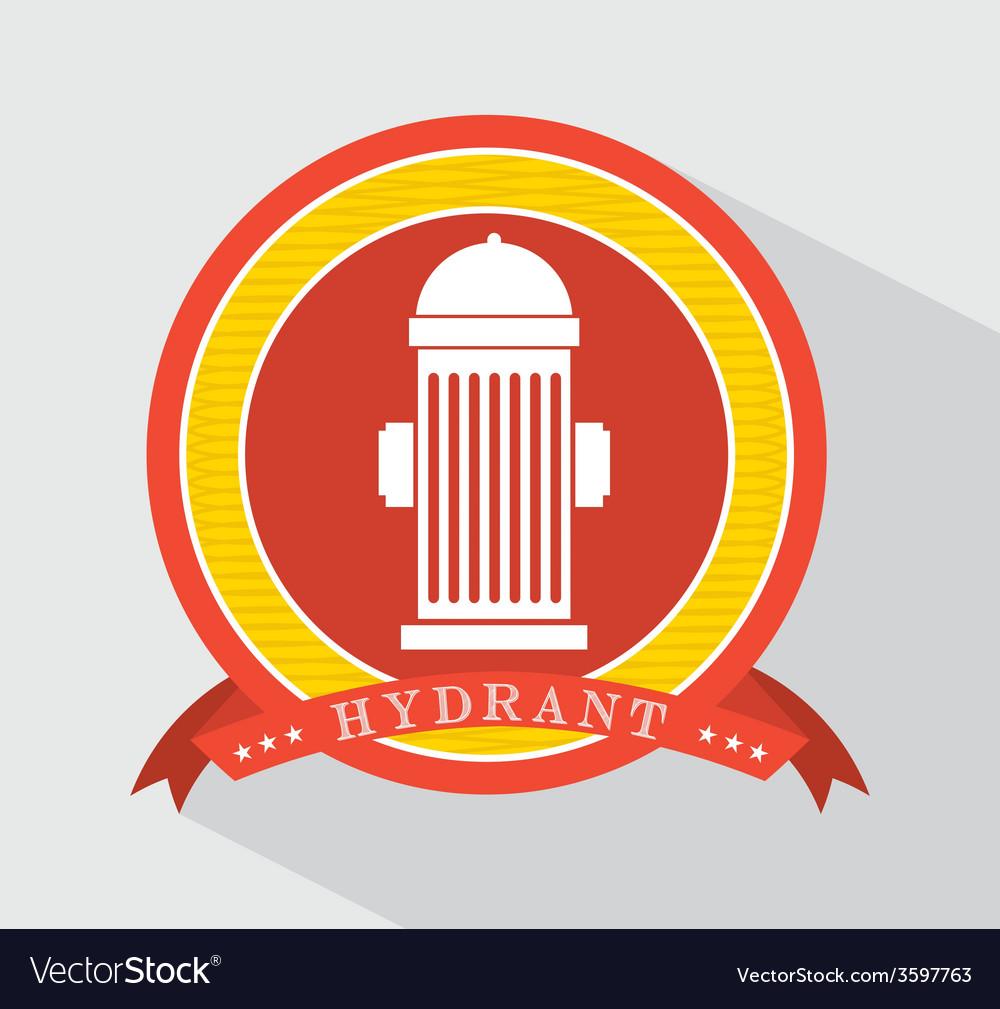 Hydrant icon vector | Price: 1 Credit (USD $1)