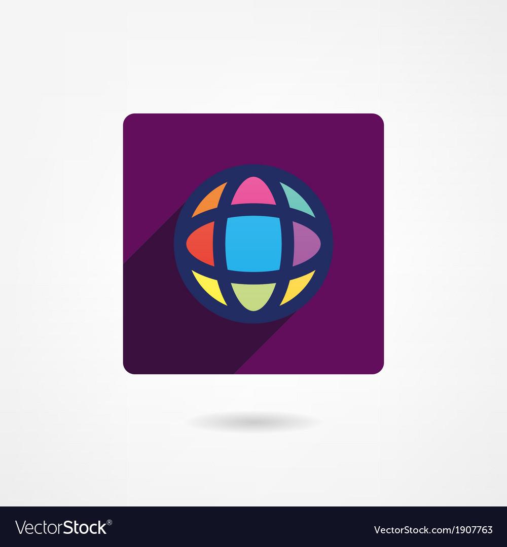 Planet icon vector   Price: 1 Credit (USD $1)