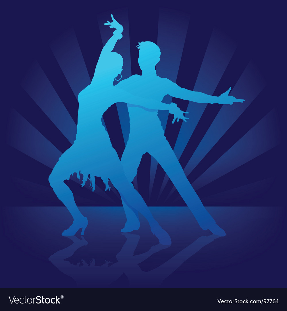 Dance rumba vector | Price: 1 Credit (USD $1)