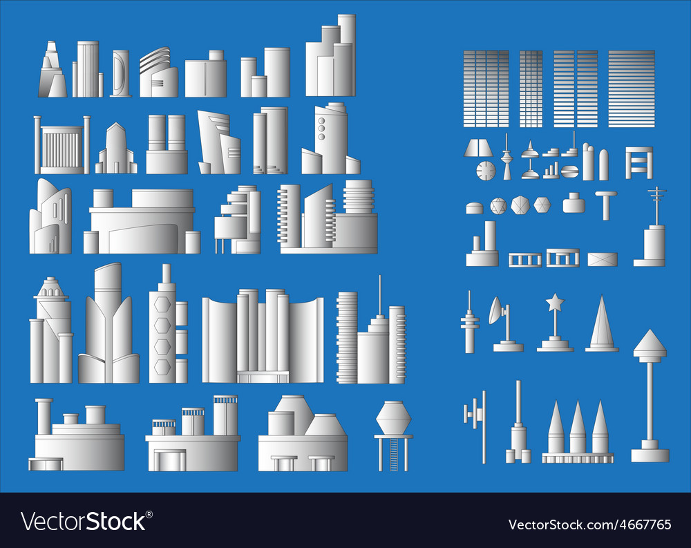 All building vector | Price: 1 Credit (USD $1)