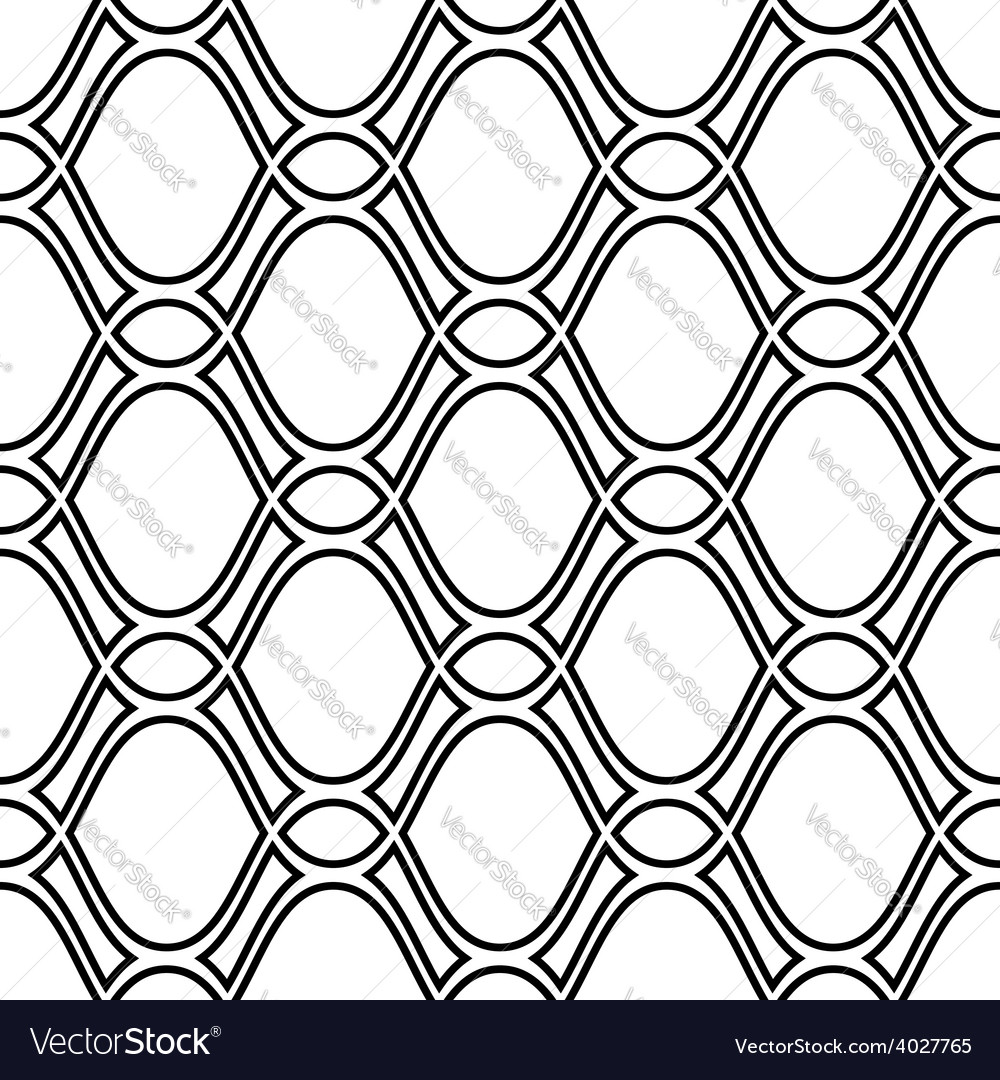 Geometric seamless pattern vector | Price: 1 Credit (USD $1)