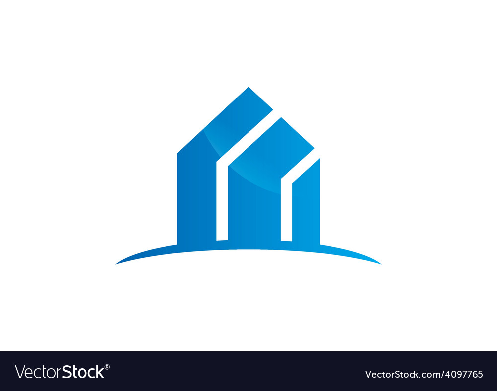 Modern building absract logo vector | Price: 1 Credit (USD $1)