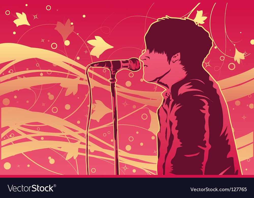 Singer vector   Price: 1 Credit (USD $1)