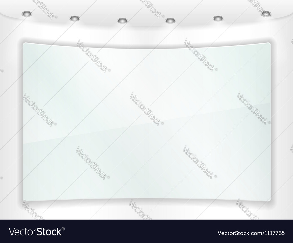Transparent glass frame vector | Price: 1 Credit (USD $1)