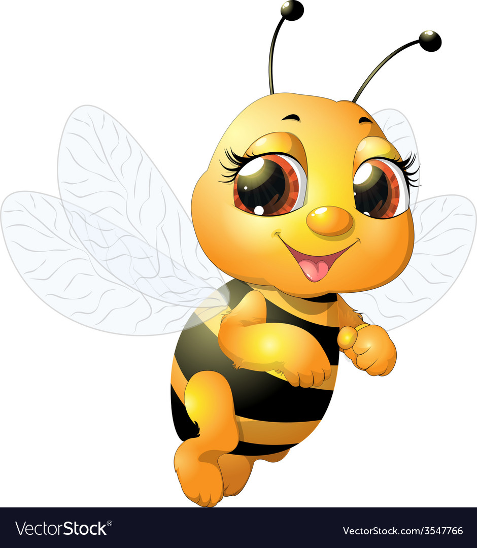 Beautiful bee vector | Price: 3 Credit (USD $3)