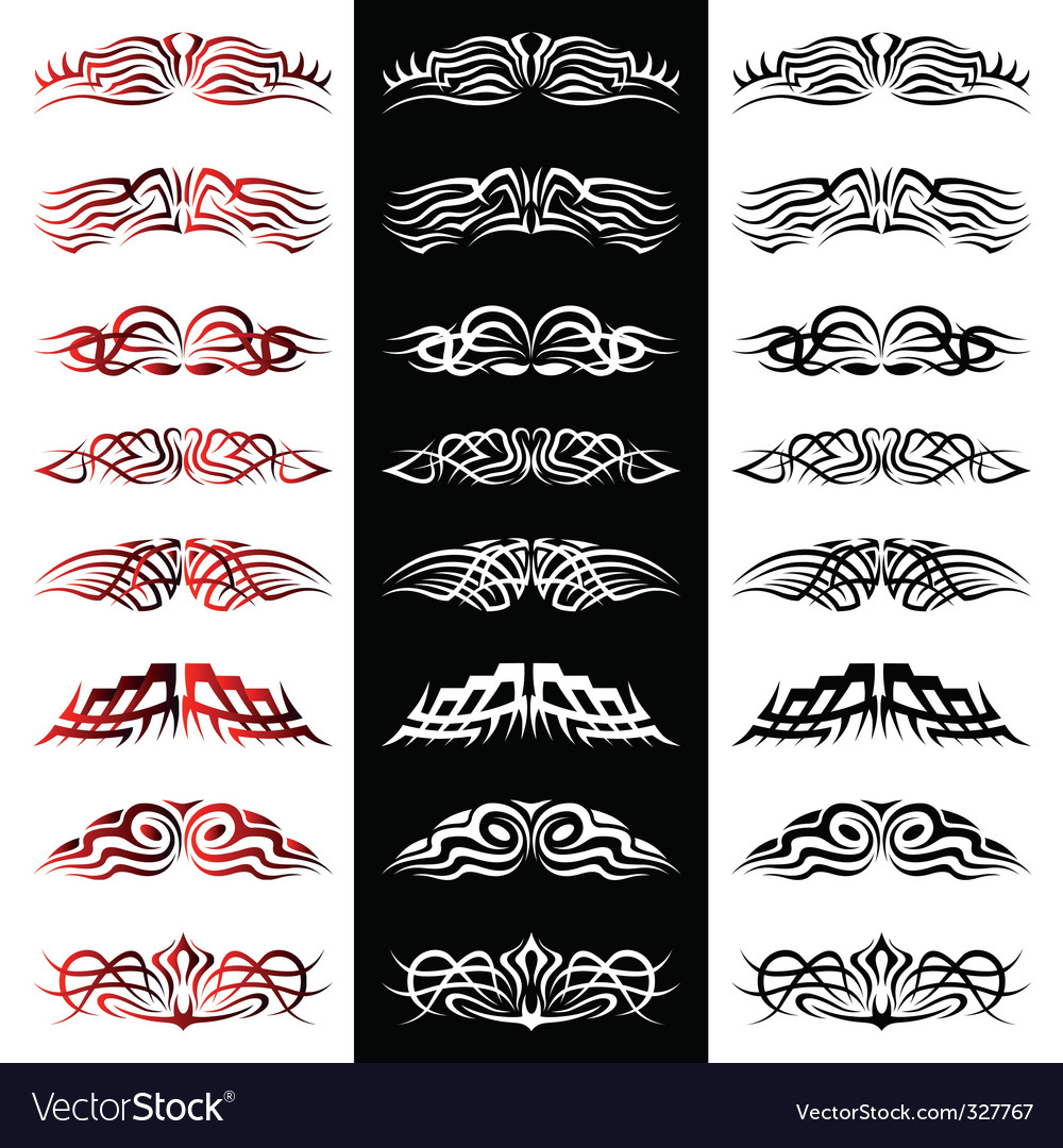 tattoo pack vector vector | Price: 1 Credit (USD $1)