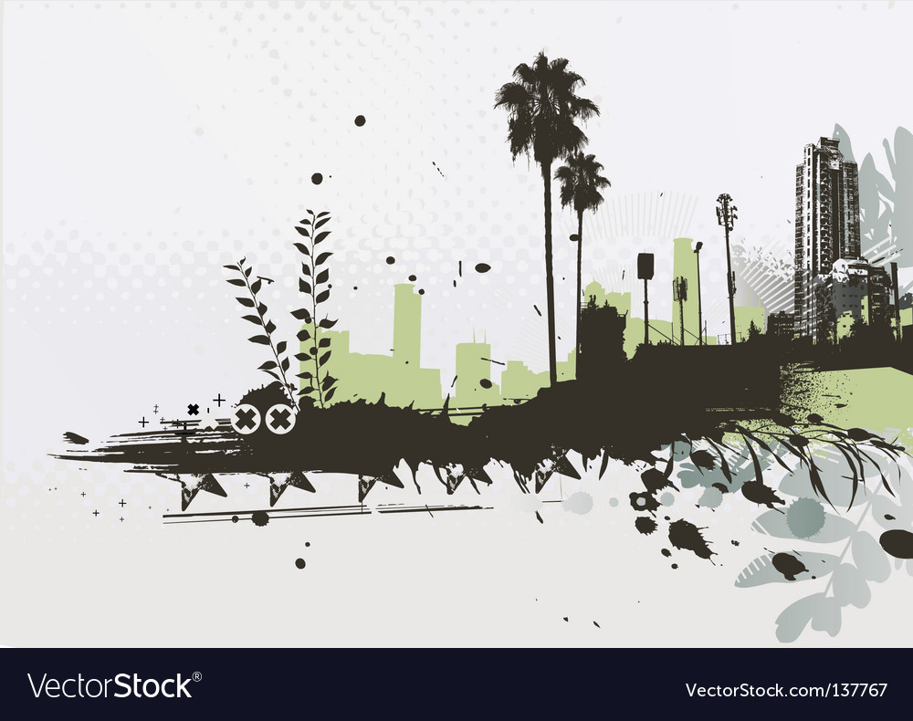 Urban background vector | Price: 1 Credit (USD $1)