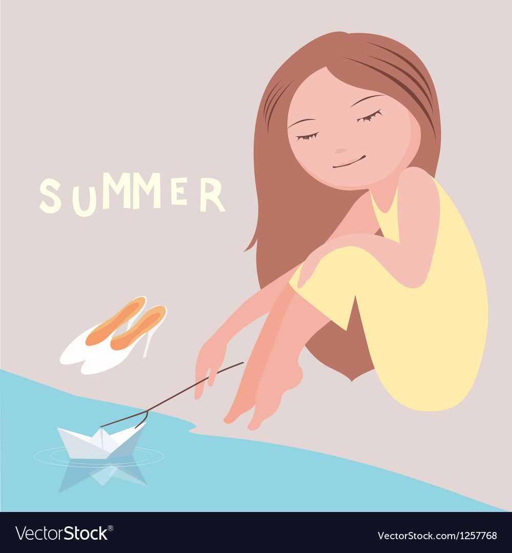 Summer mood vector | Price: 1 Credit (USD $1)