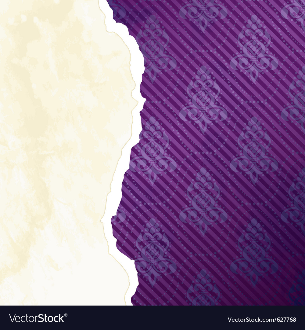 Vibrant torn paper banner vector | Price: 1 Credit (USD $1)