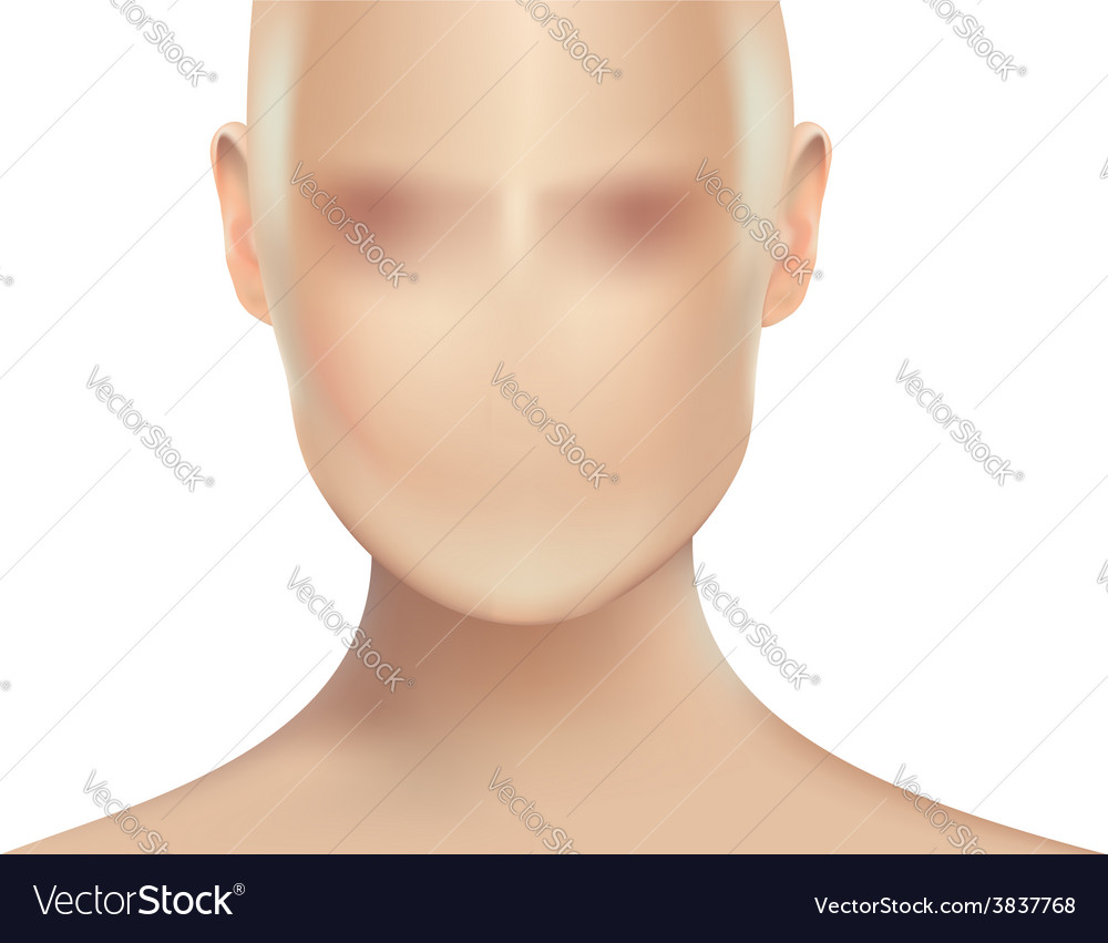 Womans face vector | Price: 1 Credit (USD $1)