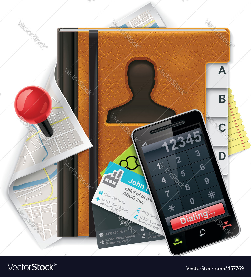 address book xxl icon vector | Price: 3 Credit (USD $3)
