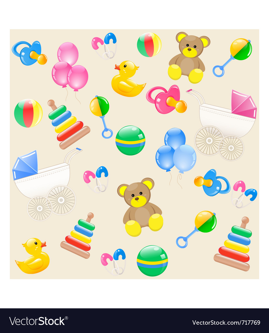Baby card vector | Price: 3 Credit (USD $3)