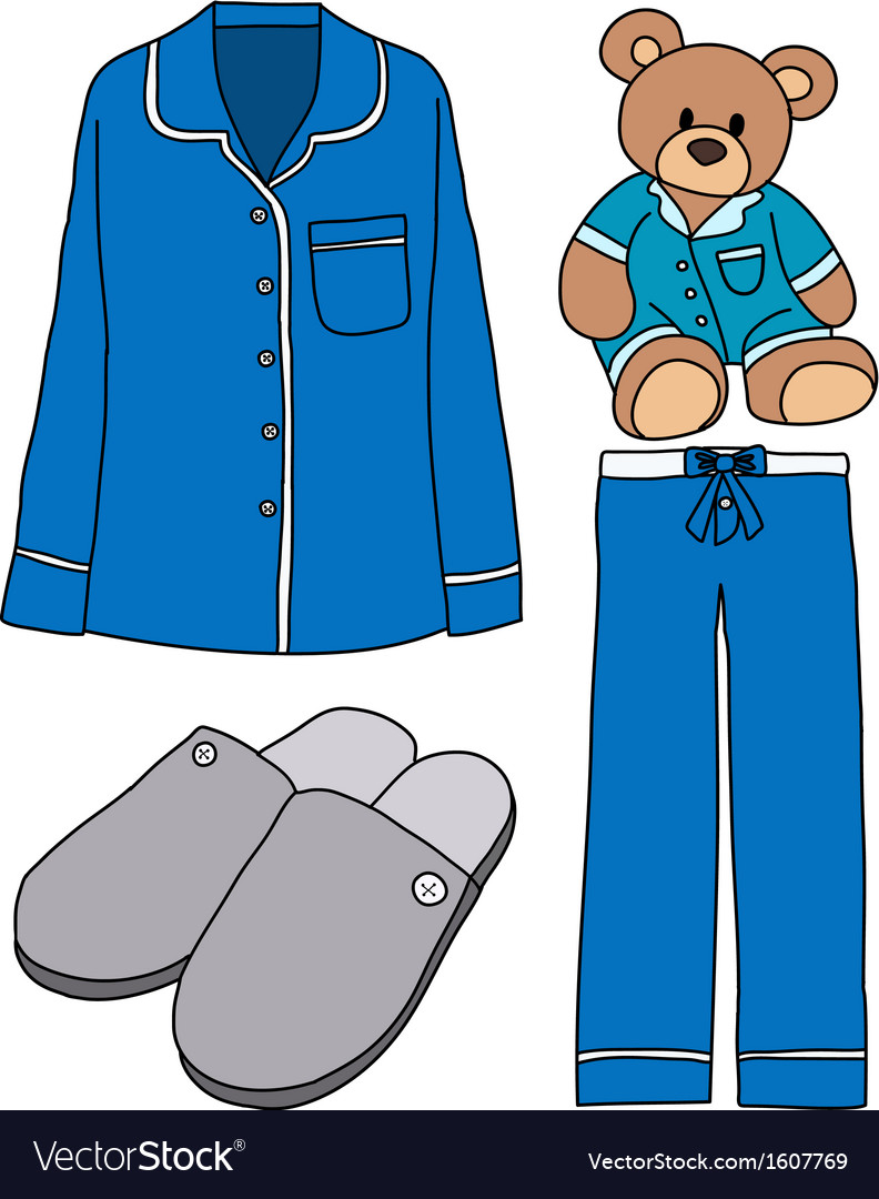 Sleeping clothes vector | Price: 1 Credit (USD $1)