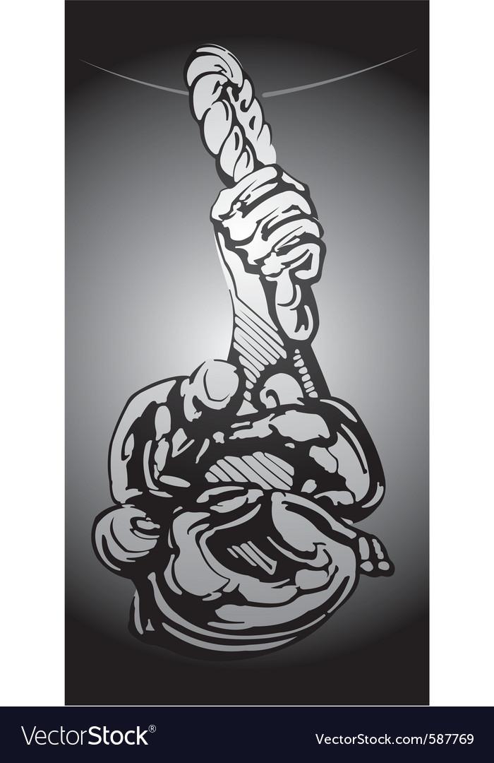 Suspension grunge vector | Price: 1 Credit (USD $1)