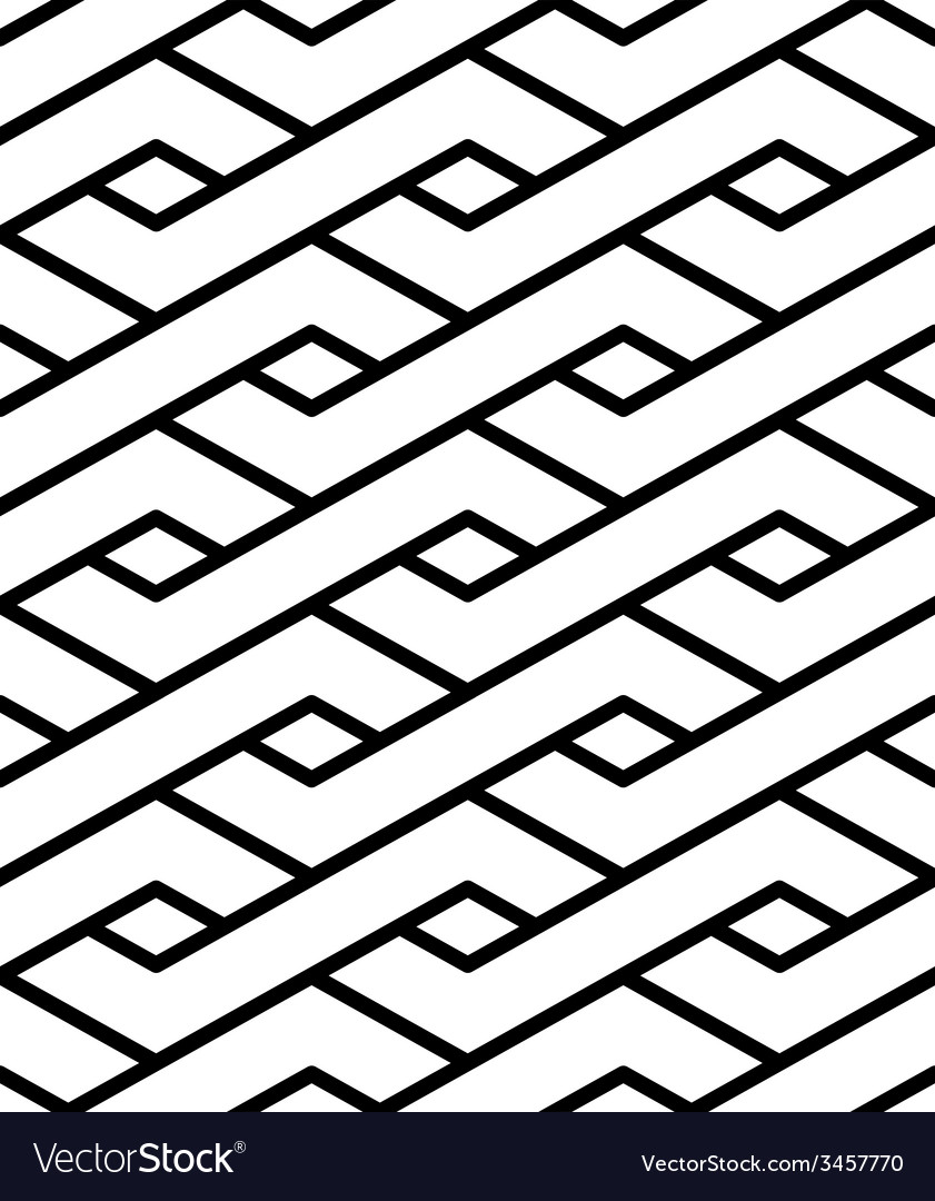 Contrast geometric seamless pattern with symmetric vector | Price: 1 Credit (USD $1)