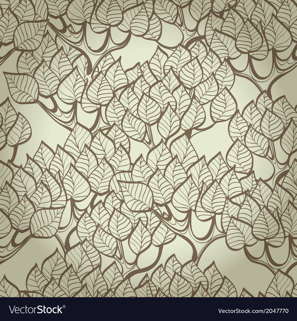 Hand drawn background with trees vector | Price: 1 Credit (USD $1)