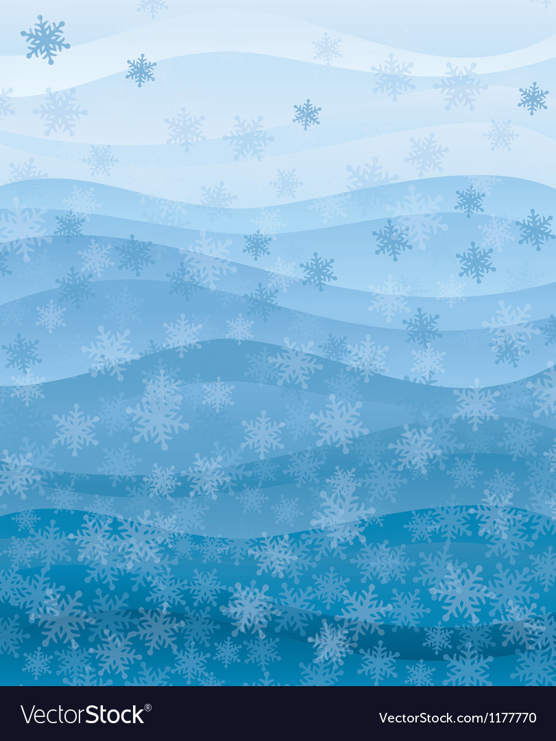 Snowflakes wallpaper vector | Price: 1 Credit (USD $1)