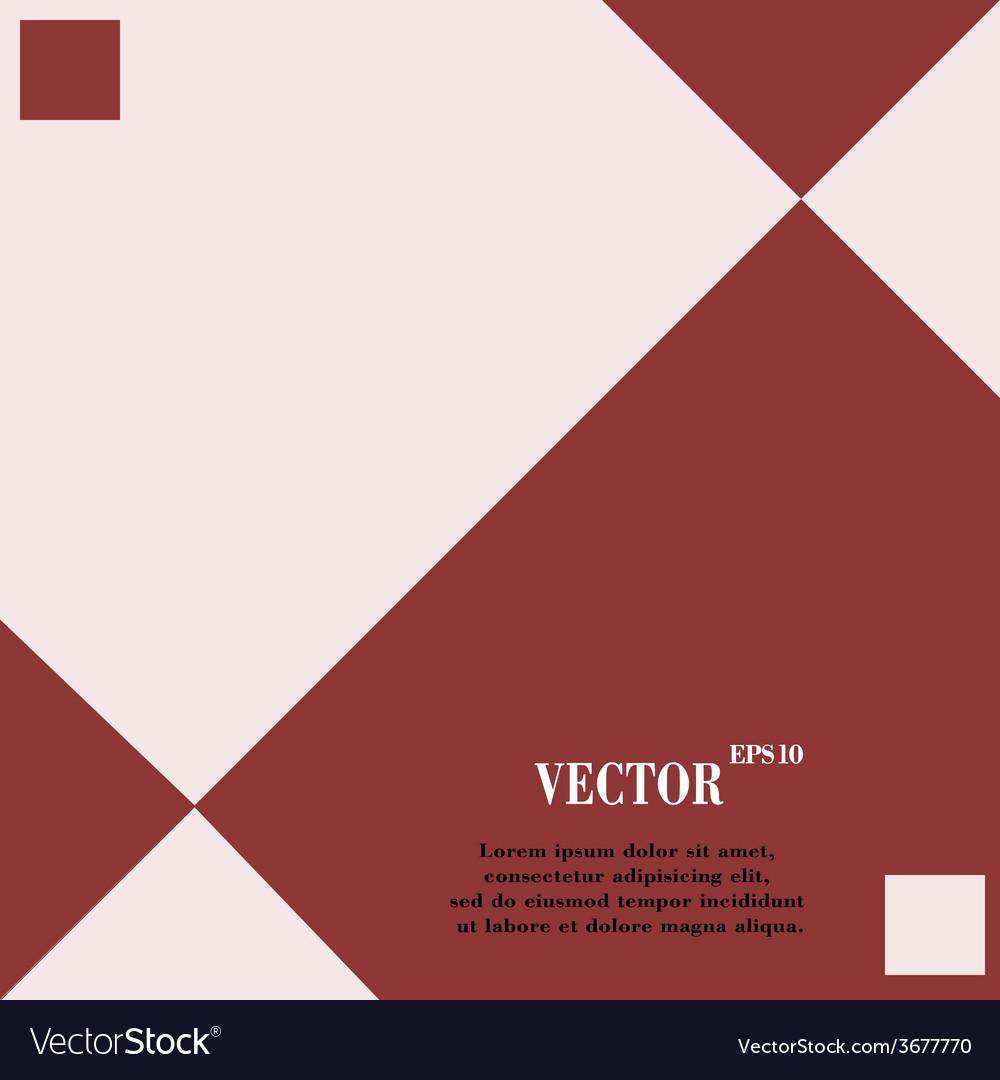 Web design a flat geometric background vector | Price: 1 Credit (USD $1)