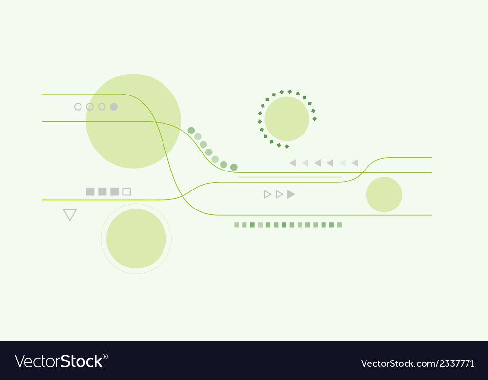 Abstract lines and circles vector | Price: 1 Credit (USD $1)