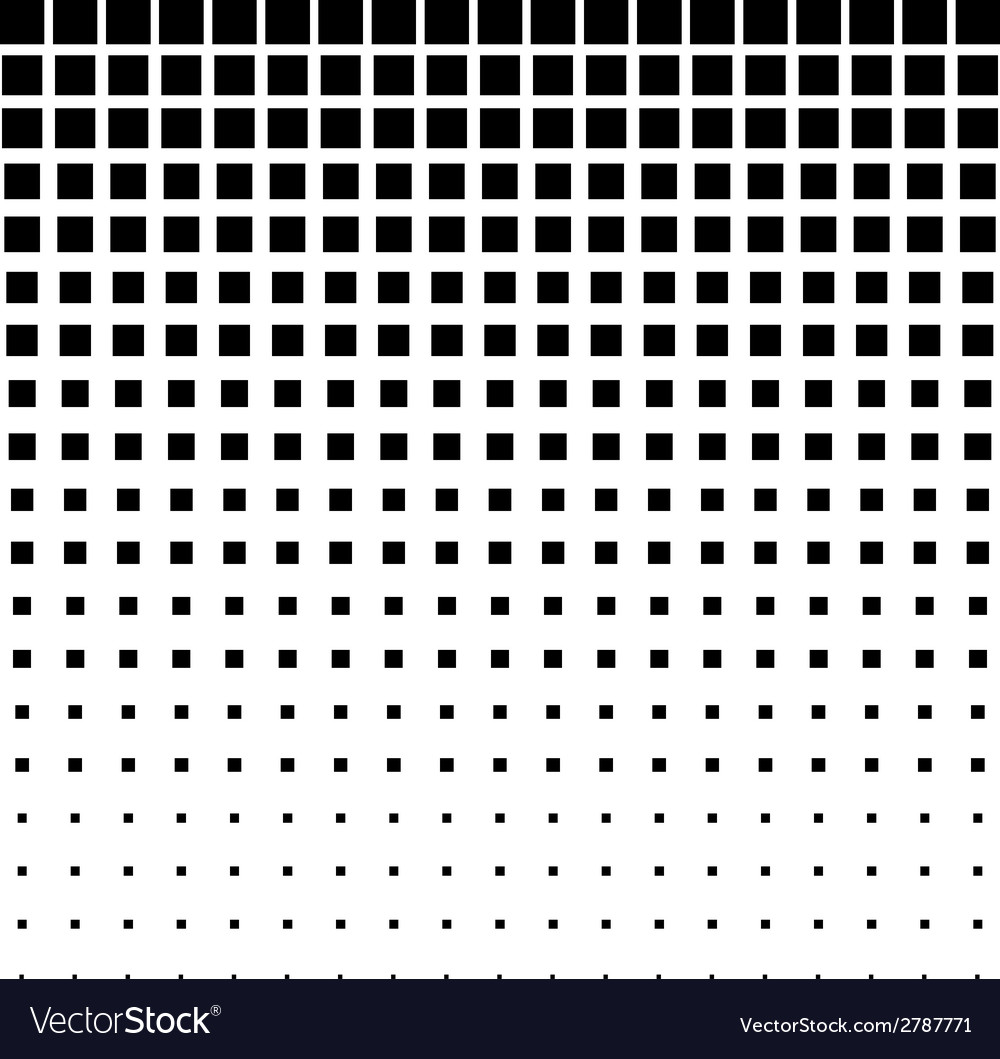 Black abstract halftone square dot background vector | Price: 1 Credit (USD $1)