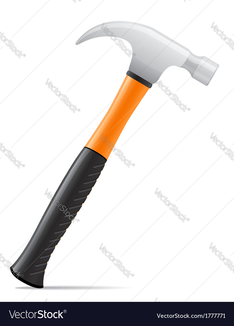 Tool hammer 01 vector | Price: 1 Credit (USD $1)