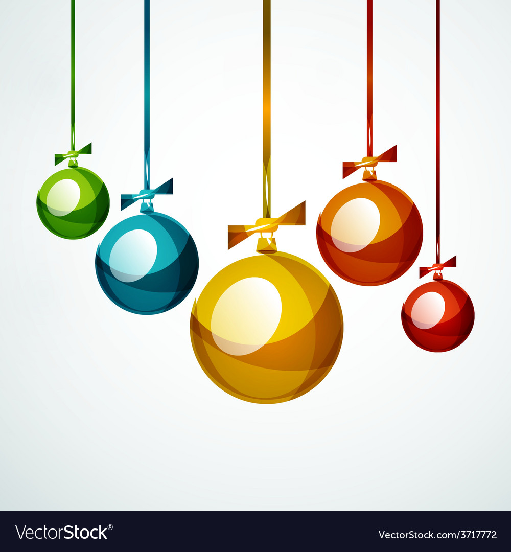 Christmas ball bauble new year concept vector | Price: 1 Credit (USD $1)