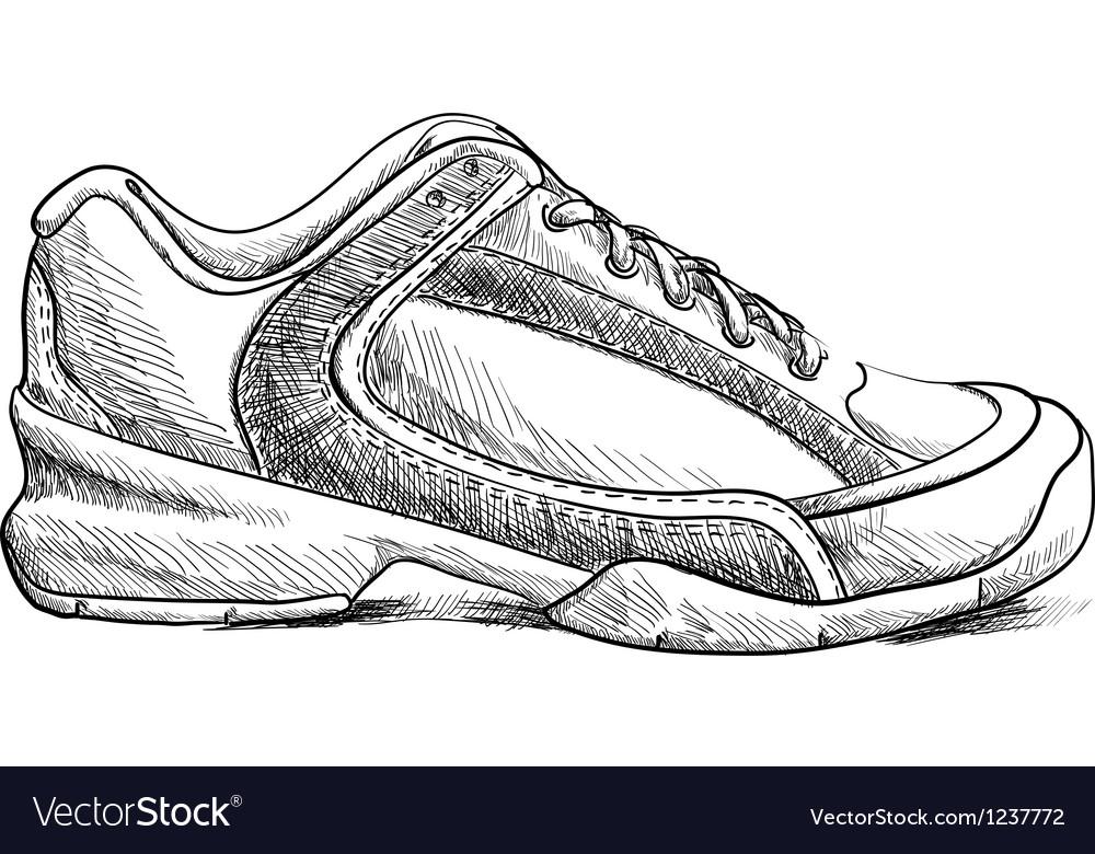 Sketch shoes vector   Price: 1 Credit (USD $1)