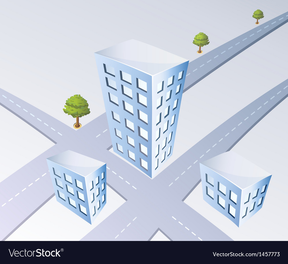 Isometric projection vector | Price: 1 Credit (USD $1)