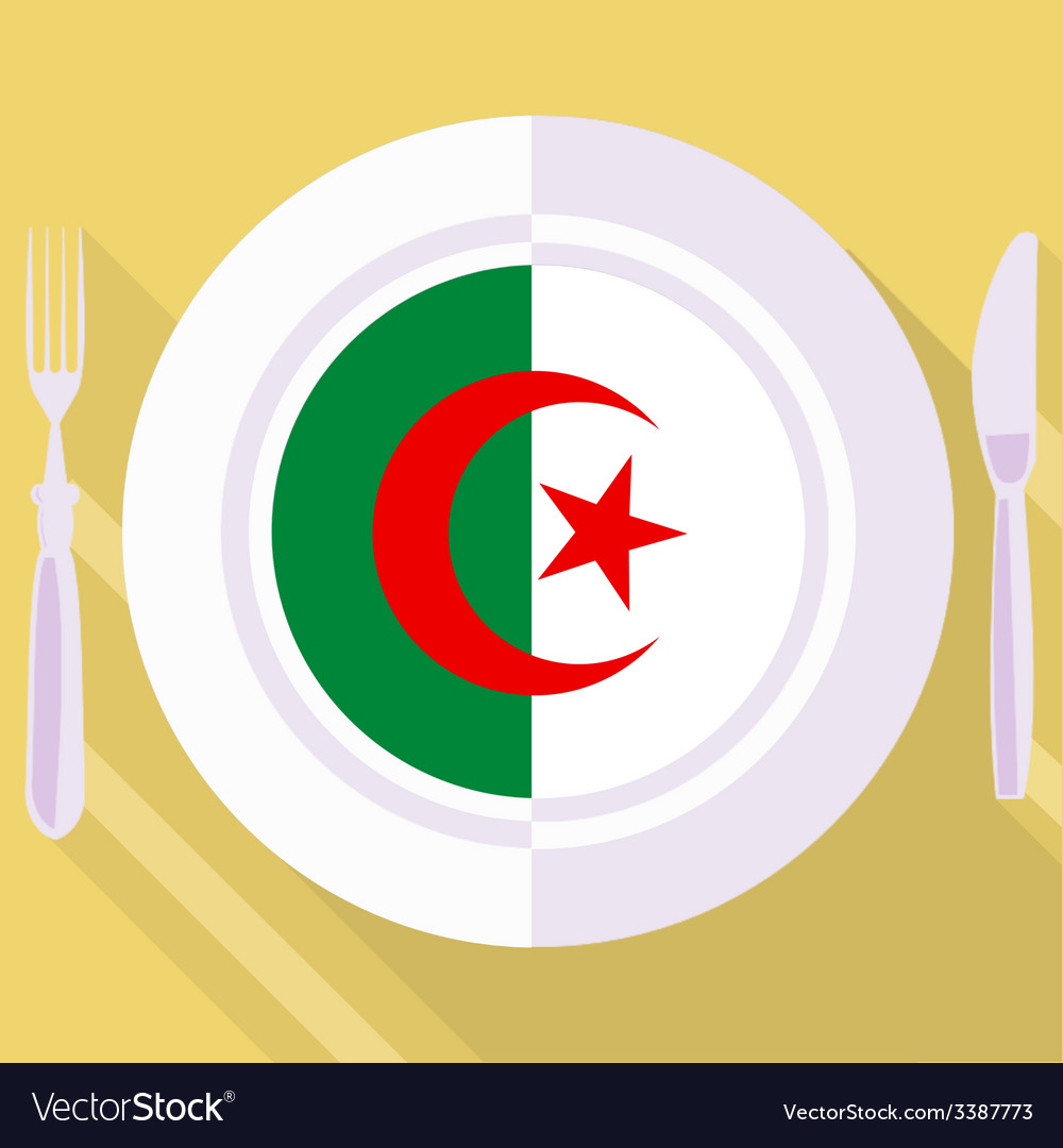 Kitchen of algeria vector | Price: 1 Credit (USD $1)