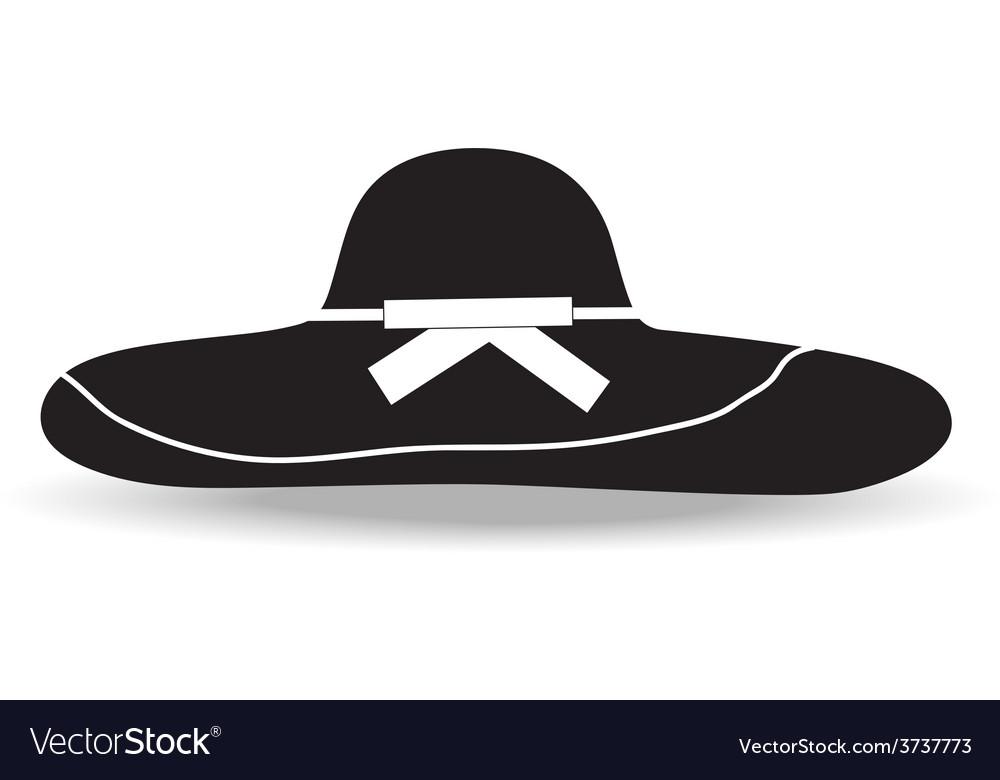 Woman hat vector | Price: 1 Credit (USD $1)