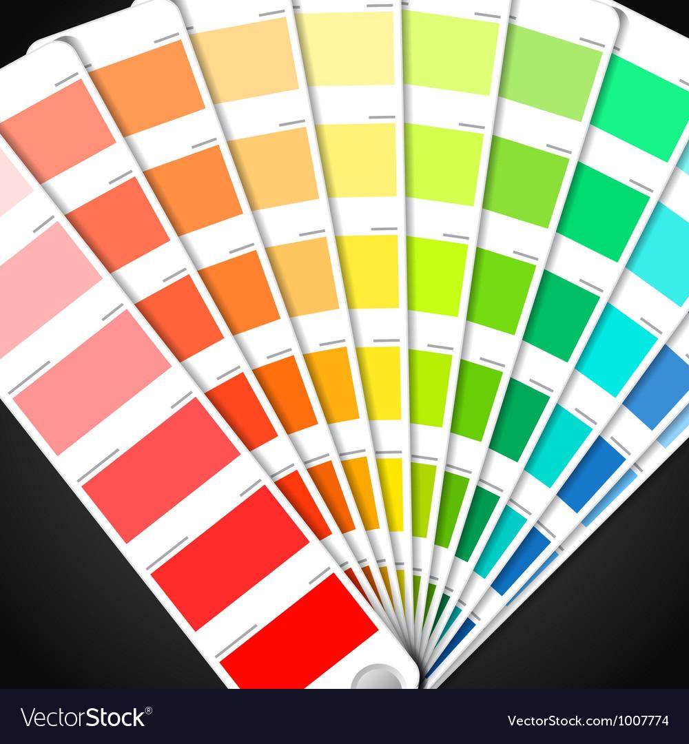 Color palette guide vector | Price: 1 Credit (USD $1)