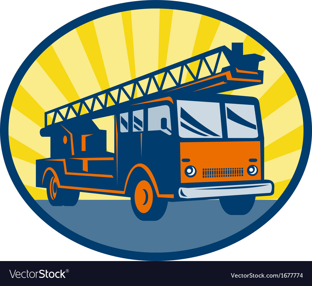 Fire truck or engine appliance vector | Price: 1 Credit (USD $1)