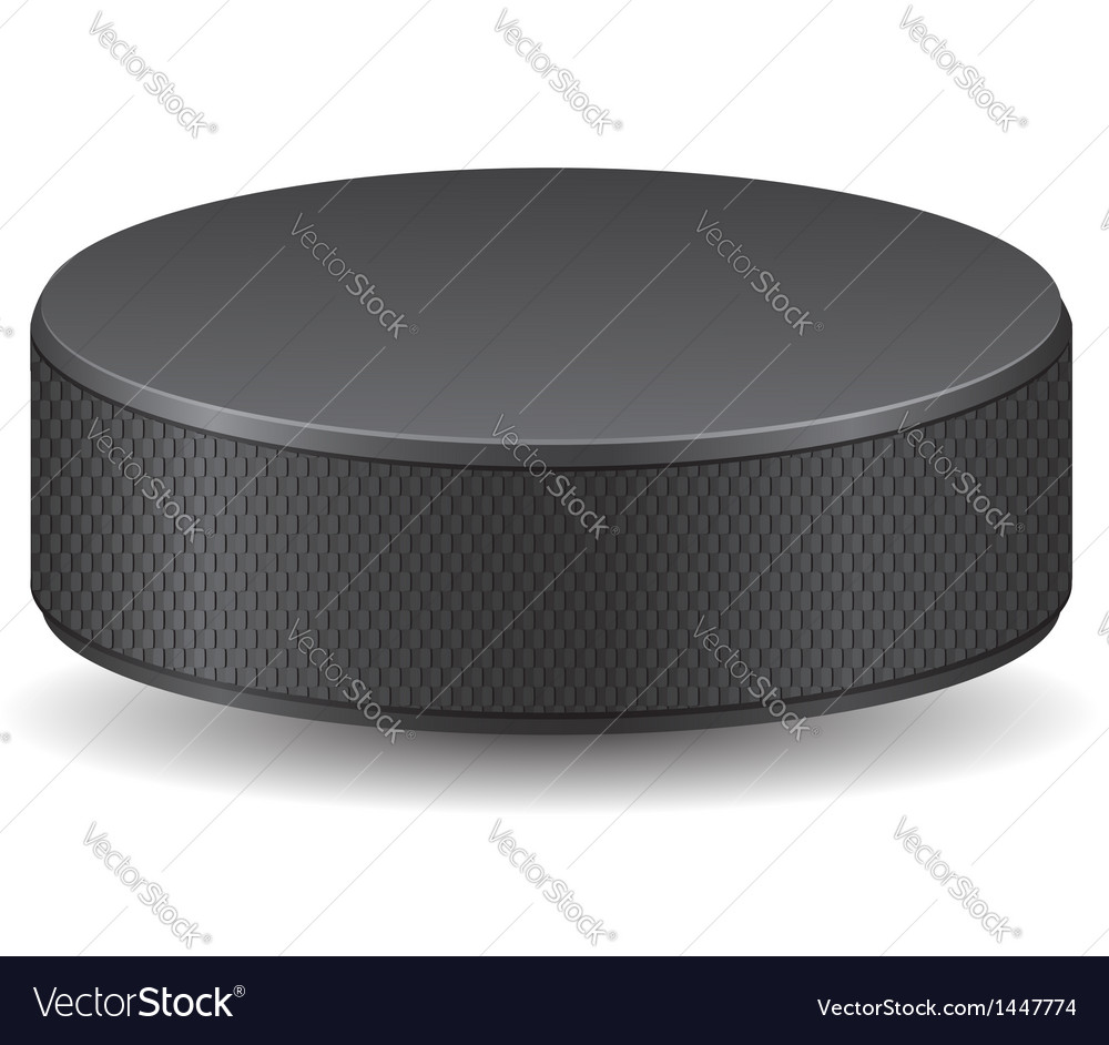 Hockey puck vector | Price: 1 Credit (USD $1)