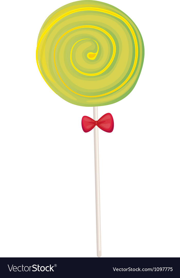 A green candy vector | Price: 1 Credit (USD $1)