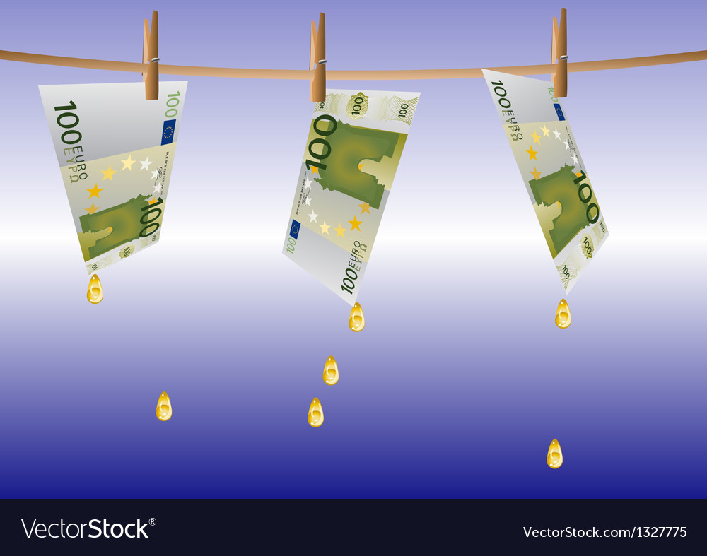 Money on a rope vector | Price: 1 Credit (USD $1)