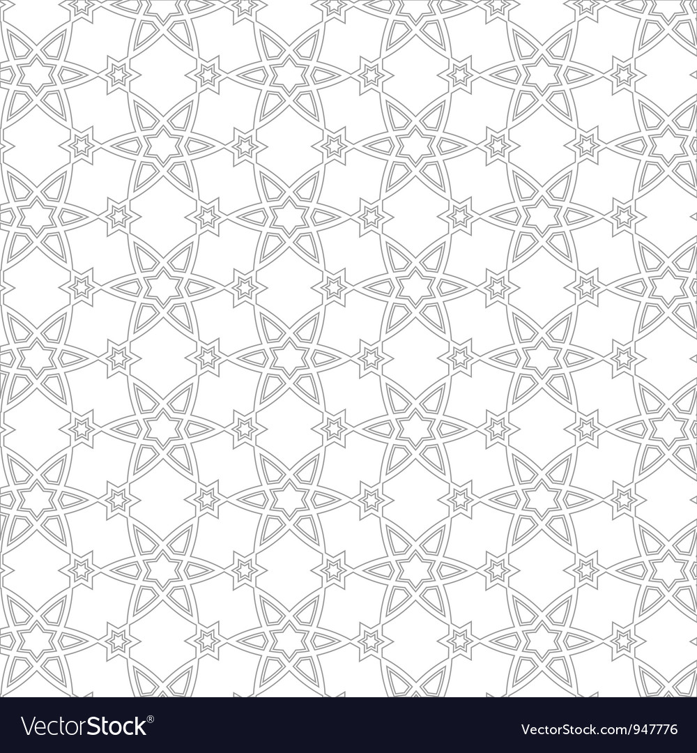 Delicate pattern in arabic style vector | Price: 1 Credit (USD $1)
