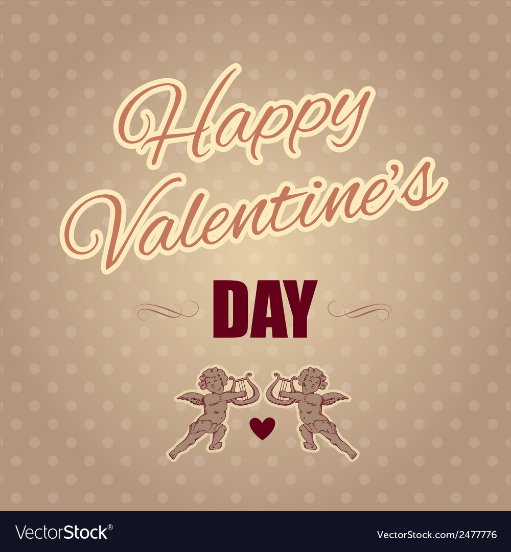 Holiday banner for valentines day vector | Price: 1 Credit (USD $1)
